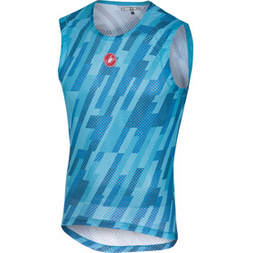 Castelli Pro Mesh Sleeveless Baselayer Jersey Men sky blue